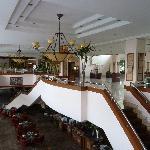 Lobbybereich mit Restaurant