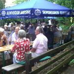 Grillfeier im Hofgarten filouu
