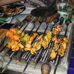 Kebabs for starters - unlimited supply :-)