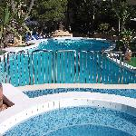 The upper swimming Pool