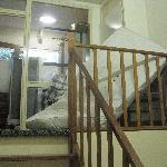 Entrada del hostal