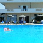 Hotel Nafsica (as it should look not the villa Nafsika as you have on your page !!!!)