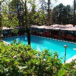 bellissima la piscina.. peccato inutilizzabile!!