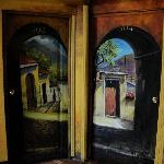 murals in hallways