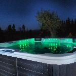 Le spa, by night, c'est le pied !