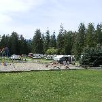Good playground and grassy rv sites