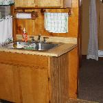 Kitchen area Cabin #2