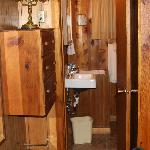 Bedroom into Bathroom Cabin #2