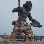 Majestic Nepture Statue; love it!
