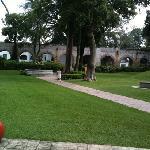 el jardín de la capilla