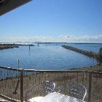 Spectacular views across Moreton Bay and the islands including Redland Bay Harbour