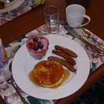 Breakfast for two, delish~!