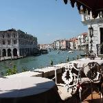 the Grand Canal from the terrace