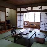Spacious Tatami Room suitable for 6 persons
