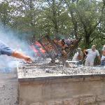 area del barbecue