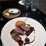 Duck Breast with Beetroot Jus