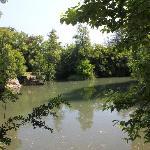 Teich hinter dem Al Parco