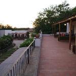 Terrazze residence primo piano con vista ingresso ristorante