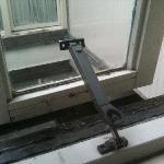 fenêtres pourries ne fermant pas