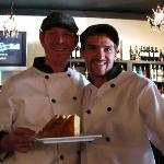 The Chefs, Mike and Jer who made our meals so incredible