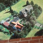 Luftaufnahme aus dem Aufenthaltsraum