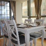 Bright and spacy dinning area