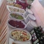 Buffet d'antipasti e verdure grigliate
