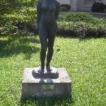 Sculpture outside the museum