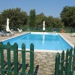 la piscina, quello che ci voleva dopo una giornata di fatiche turistiche