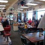 Inside Skyway Cafe
