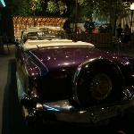 the only Cadillac convertable in the museum