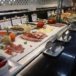 Lunch buffet at Las Caracolas