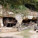 A troglodyte farm dwelling