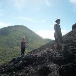 enjoy picture of Cerro Negro volcano for Sandbording