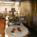 The doughnut fryer!