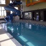 Waterslide and Pool