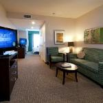 Spacious guest rooms and suites with modern amenities like flat screen tvs, free WiFi, and more!
