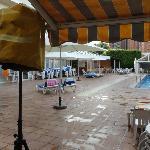 L'hôtel Helios - La Piscine
