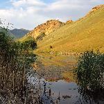 The dam at Kiara Resort