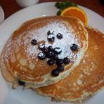Georgie's awesome blueberry pancakes
