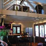 Living room/kitchen of 3-br villa
