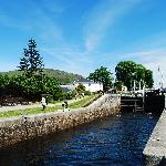 View on the Caledonian Canal
