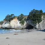 25 Mins drive north is Cathedral Cove