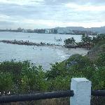 Vista hacia la bahia de Pampatar desde el local