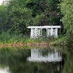 The Pergola between the ponds