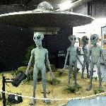 Cheese in UFO Museum in Roswell