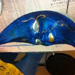 Here is one of the masks we made