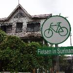'Biking in Suriname'