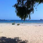 Beach has been renovated - nice walks
