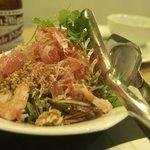 shrimp & pumelo salad